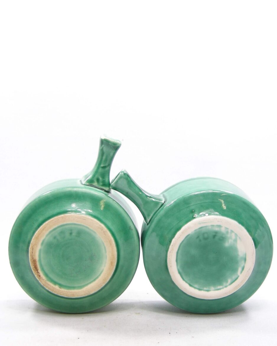 1575 - vintage soepkommen 1078 groen
