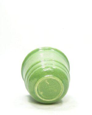 1584 – vintage bloempotje Erica groen