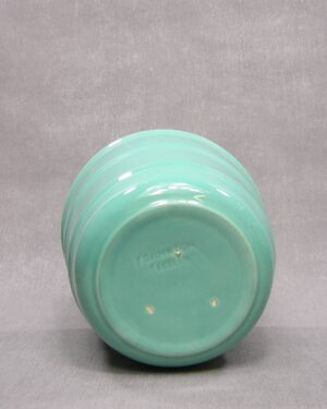 1602 – vintage bloempot groot Frankton Tegelen groen
