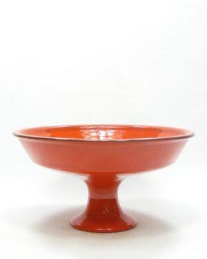 1614 - vintage fruitschaal Ravelli 321 oranje