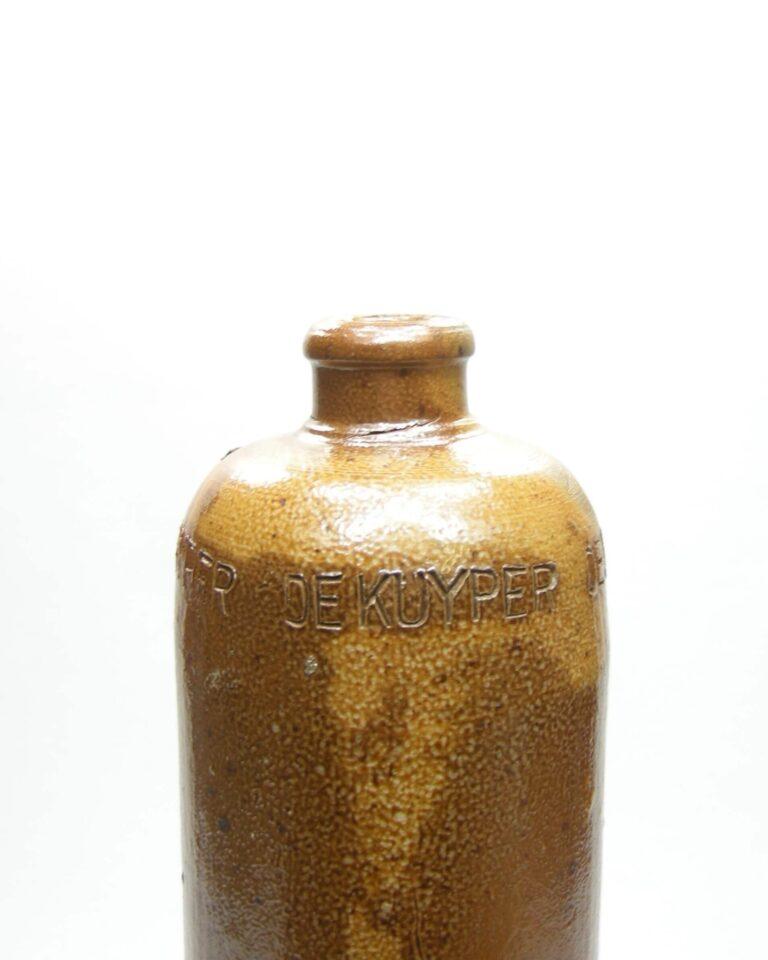 1676 – Vintage Jeneverkruik De Kuyper bruin (6)