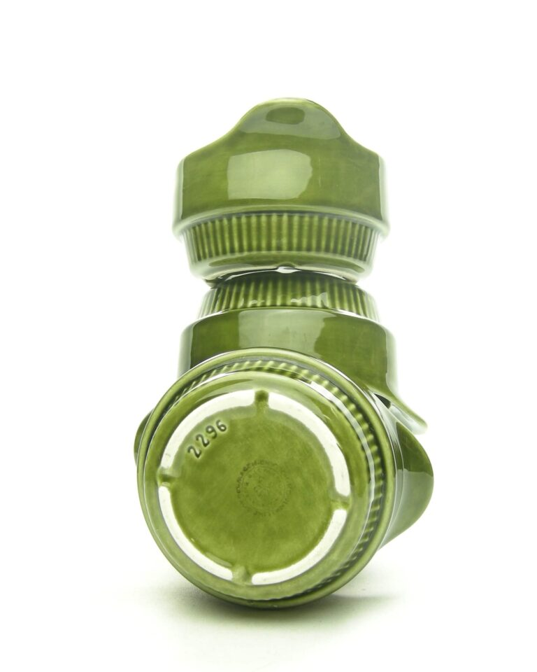 1690 – Vintage soepkommen royal Goedewaagen groen