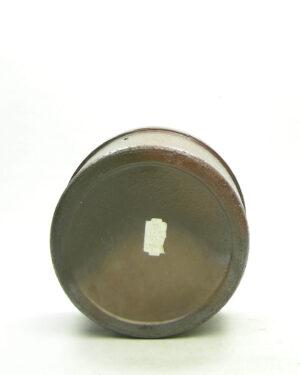 1696 – vintage bloempot metallic bruin